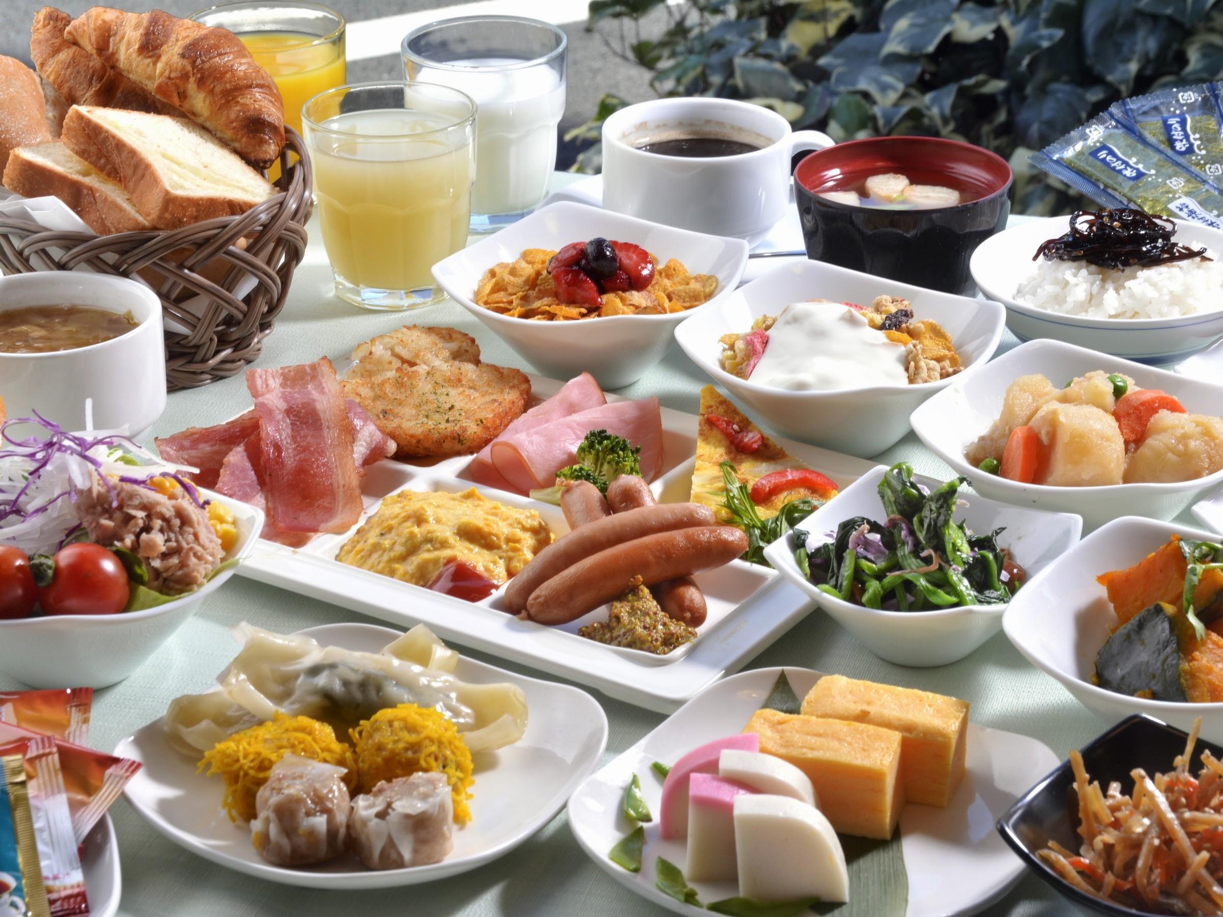プレミアホテルキャビン新宿朝食